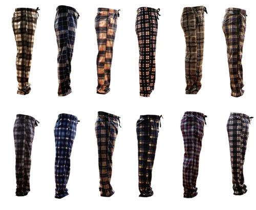 New Mens Flannel Fleece Pajama Pant Lounge Pants M/l-xl/xxl