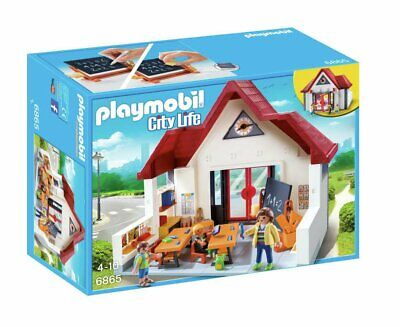 Playmobil 6865 City Life School House Playset