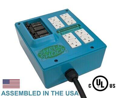 Portable Power Distribution Box W Turtle Shell Logo - Shell Shock