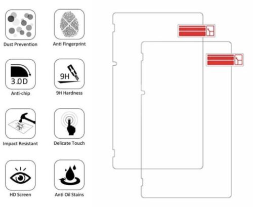 (2 Pack) Nintendo Switch Premium Tempered Glass Screen Protector