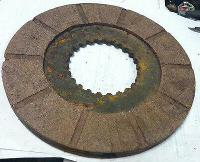 A65189 Ji Case Ih 770 870 970 1070 1170 Tractor 8 X5 Brake Disc 24 Spline Disk