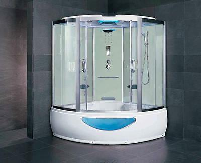 Enter the mothership and enjoy a steam shower