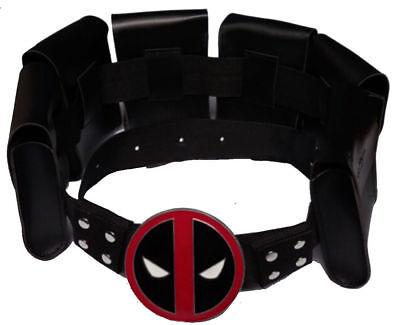 US SHIP Deadpool X-Men Superhero Belt Accessories Costume Cosplay Prop Halloween (Deadpool Belt Cosplay)