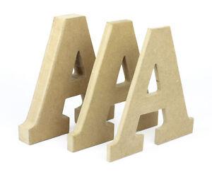 lettere in legno mdf : MDF lettere 20cm (20cm) tagliato a mano in legno lettere dellalfabeto ...