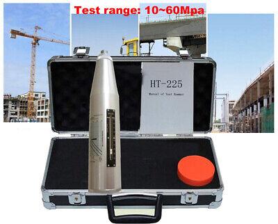 Concrete Rebound Test Hammer Schmidt Test Hammer Resiliometer With Black Case