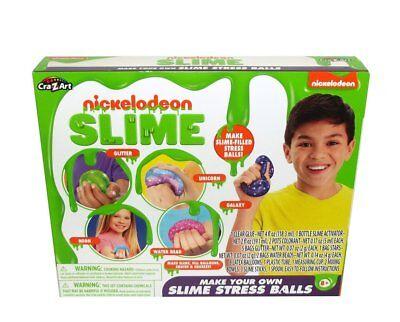Cra-Z-Art Nickelodeon Slime Make Your Own Slime Stress Ball Kit