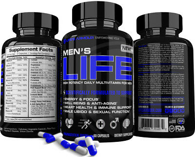 Men S Life  By Life S Armour  Best High Potency Multivitamin Supplement For Men