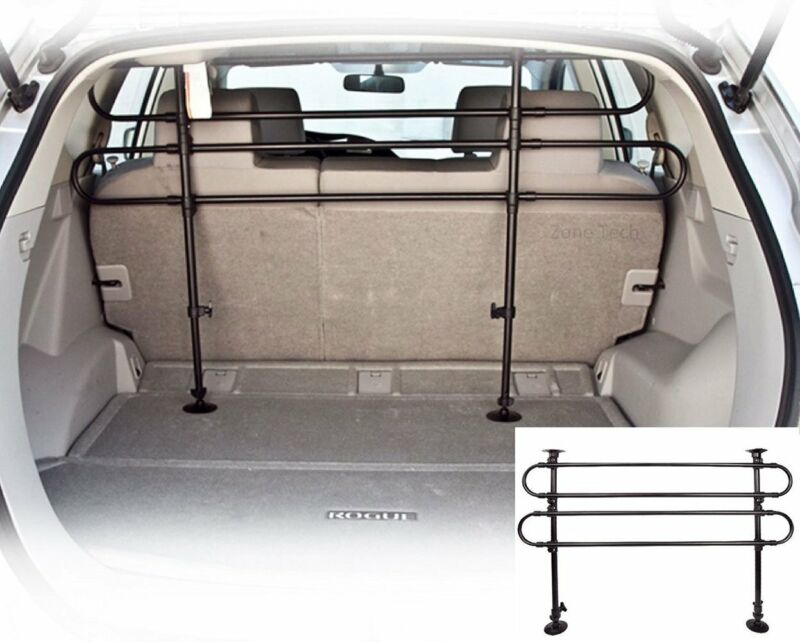 Universal Vehicle Car SUV Auto Pet Dog Barrier Fence Cage Safety Gate Black