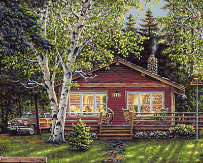 Plaid Simpler Times Paint By Number Kit