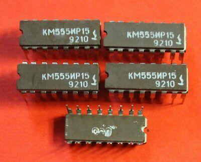 Km555ir15 Sn74ls173 Ic Microchip Ussr Lot Of 25 Pcs
