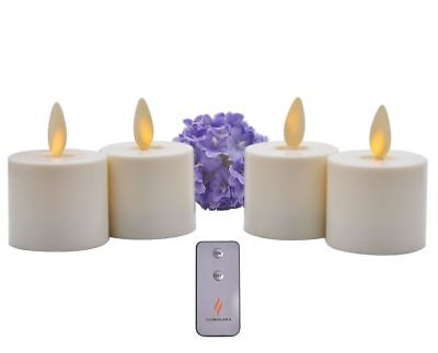 Luminara Flameless Battery Tea lights Set of 4