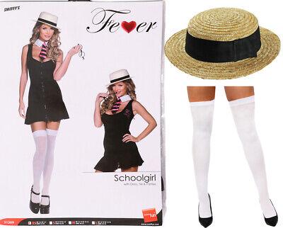 ADULT SEXY SCHOOL GIRL COSTUME NAUGHTY UNIFORM FANCY DRESS HEN PARTY - Naughty School Kostüm