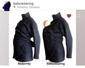 Maternity /baby wearing winter coat - Etsy Canada