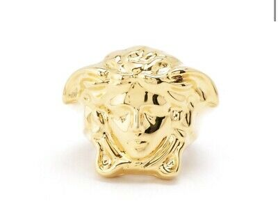 versace medusa Ring Genuine RRP:£300 Selling For £92.99