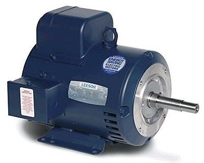 Leeson Electric Motor 131640.00 3 Hp 3500 Rpm 3ph 115208-230 Volt 182jm Frame