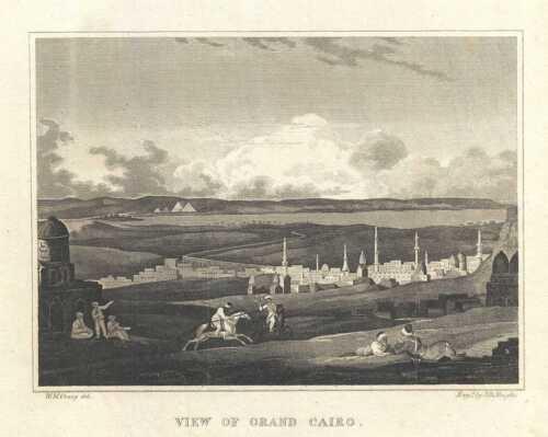 1828 Craig View of Cairo, Egypt