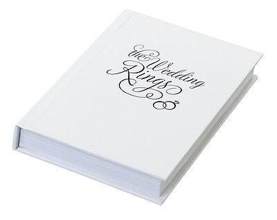 Wedding Ring Bearer Box Pillow Cushion Alternative The Wedding Rings Book Box