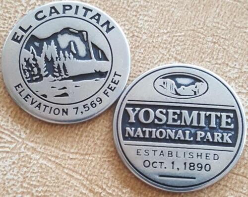 YOSEMITE NATIONAL PARK - EL CAPITAN TOKEN - CALIFORNIA