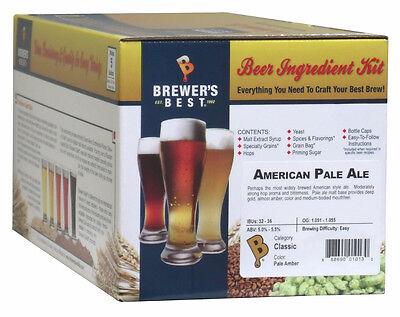American Pale Ale - Brewers Best 5 Gallon Beer Making Ingredient (Best American Pale Ale)