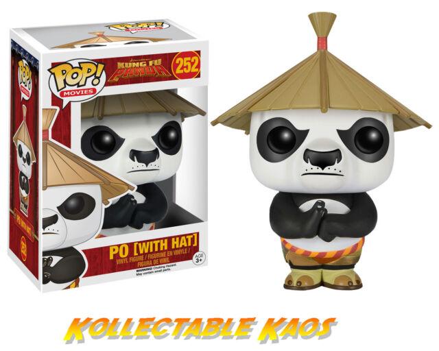 Kung Fu Panda - Po with Hat Pop! Vinyl Figure