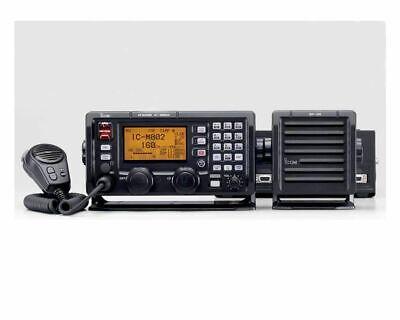 Icom IC-M802 SSB Sideband Marine Radio & AT140 Tuner Cable - COMPLETE- New