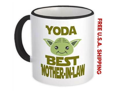 Yoda Best Mother-In-Law Ever : Gift Mug You Are Family
