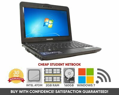 Laptop Windows - Cheap Kids Student Netbook | Intel Atom | 2GB | 160GB | WiFi | Windows 7 Starter