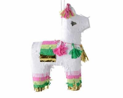 Novelty Mini LLAMA / ALPACA Pinata Paper Party / Fiesta Ornament - 24cm