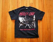 Motley Crue Too Fast for Love Shirt
