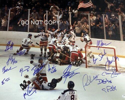 USA Hockey 1980 Olympics Signed 8x10 Autographed REPRINT PHOTO (17) Autos RP