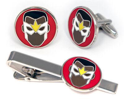 Falcon CuffLinks, Avengers Shield Tie Clip America Ironman Thor Hulk Cuff Links