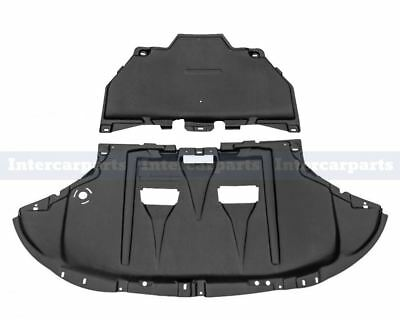 Audi A4 B6 B7 2001-2009 Under Engine Gearbox Cover Undertray + Fitting Kit