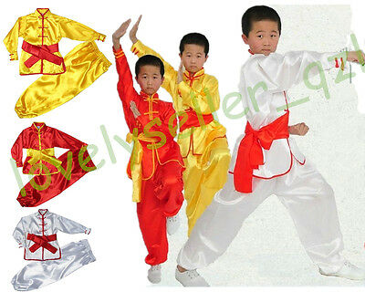 Bruce Lee Costume Kids (kids Adult Bruce Lee Chinese Wushu Uniform Martial Arts Clothing Kung fu)