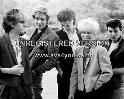 "Duran Duran 10"" x 8"" Photograph no 73"