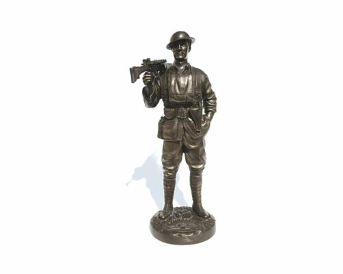 """Naked Army """"Roy"""" Cold-Cast Bronze Figurine"""