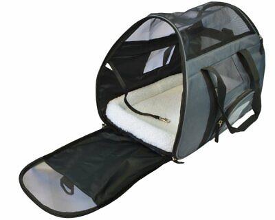 Pet Dog Cat Carrier Bag Soft Sided Comfort Travel Tote Case