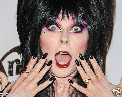 Elvira / Cassandra Peterson 8 x 10 / 8x10 GLOSSY Photo Picture IMAGE #5