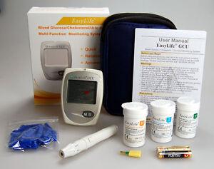 Blood Glucose Meter, Uric Acid Meter & Cholesterol test kit complete meter pack