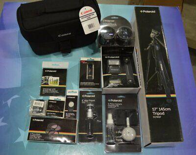 digital camera accessory kit polaroid canon ritz