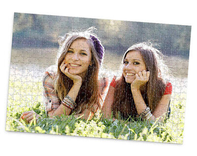 Personalized Photo Puzzle (Personalised Jigsaw Photo Collage Message Puzzle Add own Personal Custom)