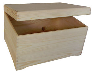 PN40-BIG-PLAIN-WOOD-KEEPSAKE-SOUVENIRS-MEMORY-BOX-CRAFT-FOR-DECOUPAGE-CRAFT
