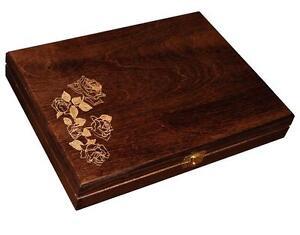 Wooden Jewellery Box eBay