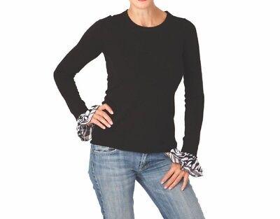 Invisibelt Kcuff Almost Zebra Ruffle Cuff Retail $22.00