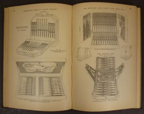 1870s-1880s E.J. Fairbanks Electroplated Silver Plate Trade Catalog