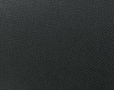 14-Count Aida Black Cross Stitch Cloth, Choose Your Size, Bulk Cotton Aida -