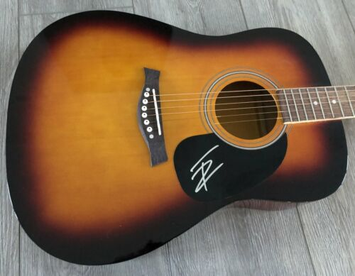 "THOMAS RHETT SIGNED AUTOGRAPH 41"" FULL SIZE ACOUSTIC GUITAR B w/PROOF"