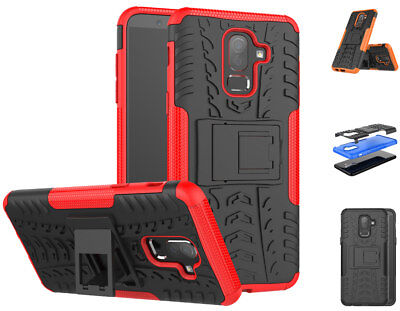 Shockproof Case Hard Protective Kickstand Slim Phone For Samsung Galaxy J8 2018