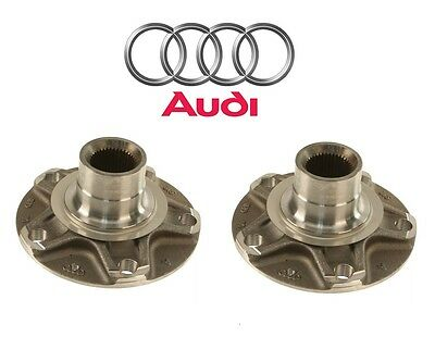 Genuine For Audi A6 A8 Quattro R8 S6 S8 Set of 2 Front or Rear Wheel Hubs