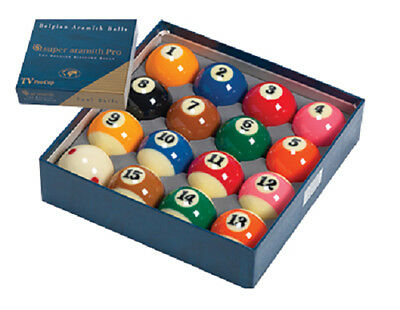 Super Aramith Pro Billiards Pool Balls Set
