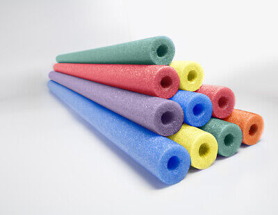 Swim Noodles Bulk (Deluxe Foam Pool Swim Noodles - 10 PACK 52 Inch  Wholesale Pricing Bulk)